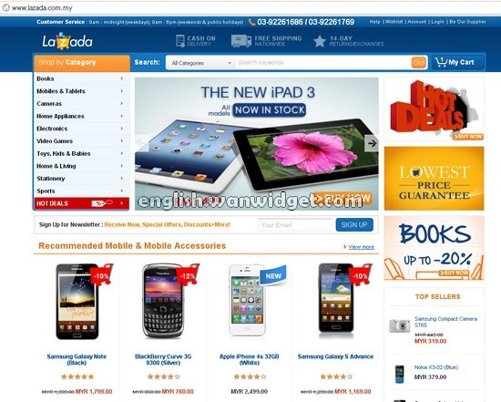 Bina Pendapatan Dari Blog Dengan Promosi Barang Lazada