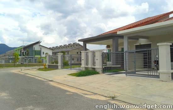 New House at Taman Seri Impian, Impiana Casa