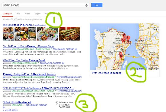 Meningkatkan Bisnes PKS Tempatan Dengan Google Places