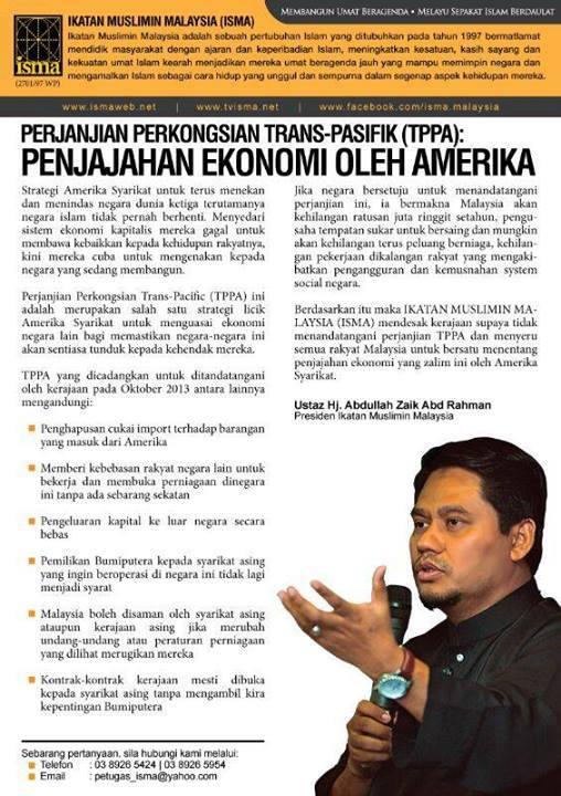 Apa Itu Trans Pacific Partnership Agreement (TPPA) Malaysia