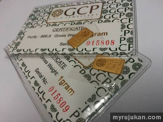 Agen Dinar Emas GCP Kluang Malaysia