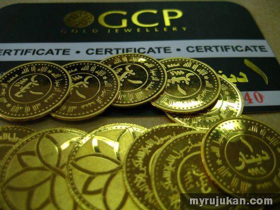 Agen Dinar Emas Gold Bar Dari GoldCrest Pavilion Malaysia