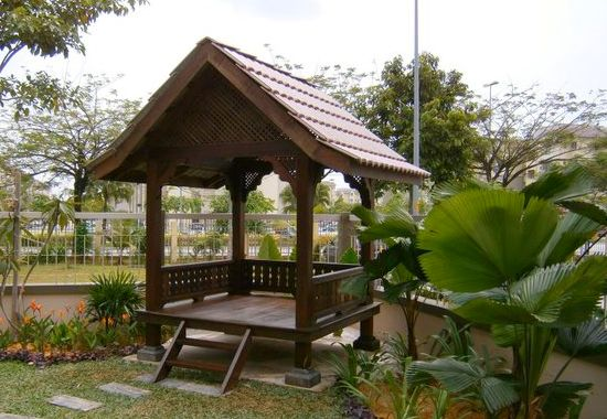 Tempah dan Beli Gazebo Malaysia Untuk Hiasan Landskap