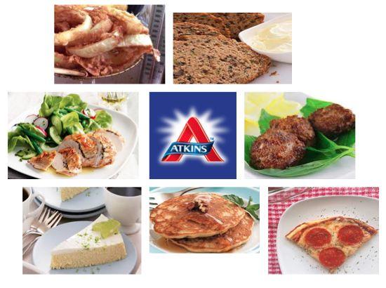 Diet Atkins menu Malaysia