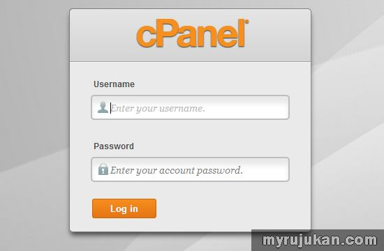 Login cPanel Account