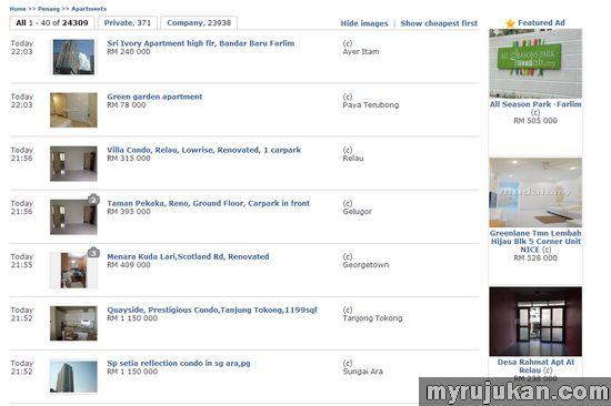 Cari Rumah Dijual Melalui Mudah.my