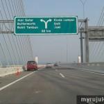 Gambar Jambatan Pulau Pinang Kedua Bahagian Tengah
