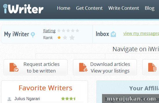 iWriter.com – Laman Web Untuk Membeli Artikel