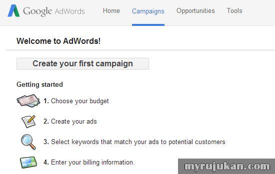 Panduan Cara Buat Iklan di Google Adwords