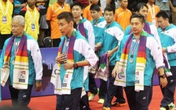 Thomas Cup 2014 with Lee Chong Wei