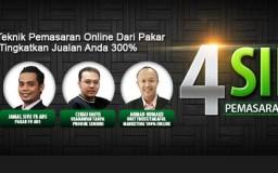 4 Sifu Berkongsi Teknik Pemasaran Online Advance