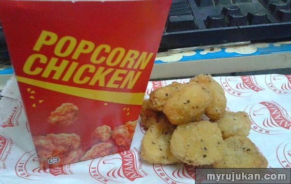 Ayamas Popcorn Chicken Sedap Dan Murah