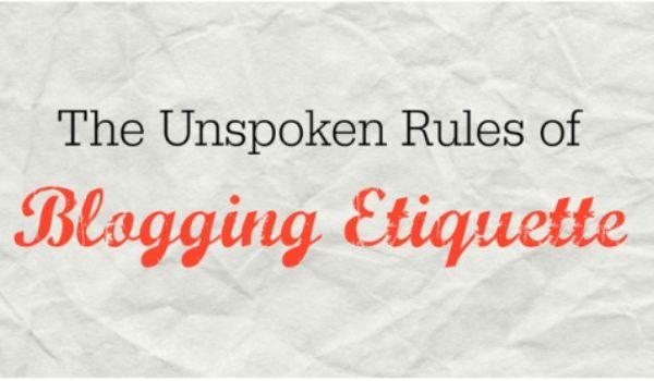 Etika Berblogging Dan Adab Seorang Blogger