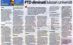 Keratan Akhbar Tentang Kerjaya Pegawai Tadbir dan Diplomatik