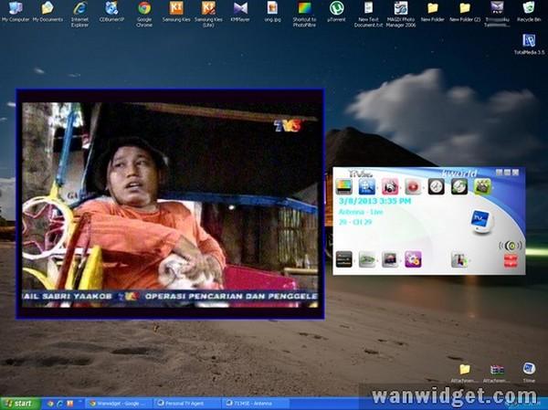 Cara Menonton TV Di PC Tanpa Internet Dengan KWorld TV Tuner