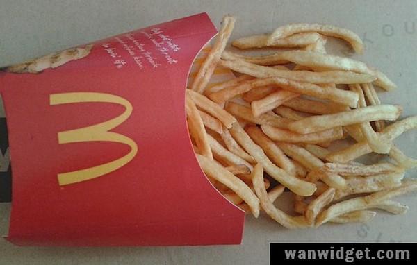 Bagaimana McDonald French Fries Kelihatan Selepas Sebulan