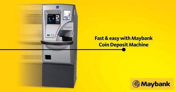 Mesin Deposit Duit Syiling Seluruh Malaysia