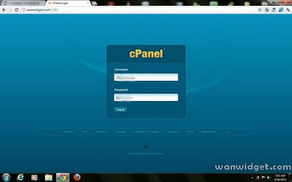 Cara Membuat Subdomain Blog cpanel interface