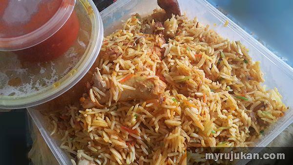 Chicken Madghout di Qasar Hadramawt