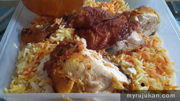 Chicken Mandy Nasi Arab Perda Penang