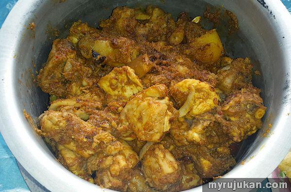 Gambar Rendang Ayam Johor
