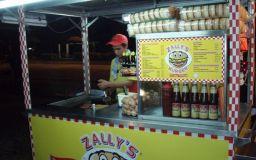 Stall Perniagaan Burger