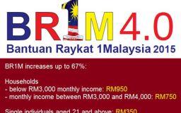 Bantuan Rakyat 1Malaysia 2015 - BR1M 4