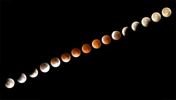 Blood Moon 8 October 2014