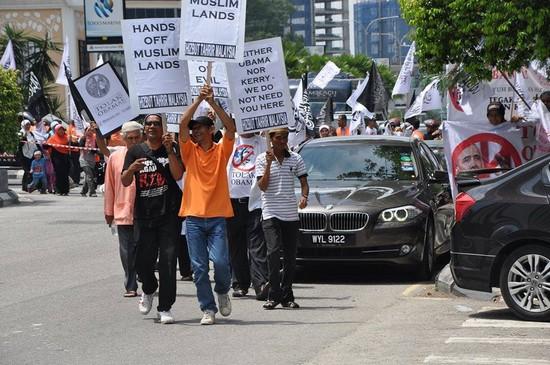 Malaysia demo