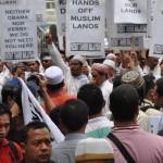 Hizbut Tahrir Malaysia Demo Tolak Obama 2