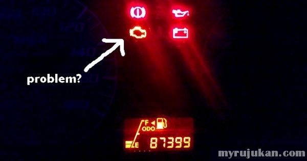 Indicator Engine Problem From Meter Panel Perodua Viva
