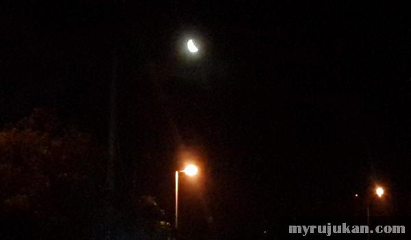 Pandangan Kasar Fenomena Gerhana Bulan 8 Oktober 2014
