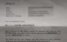Salary Adjustment Adalah Surat Kenaikan Gaji Pekerja Swasta