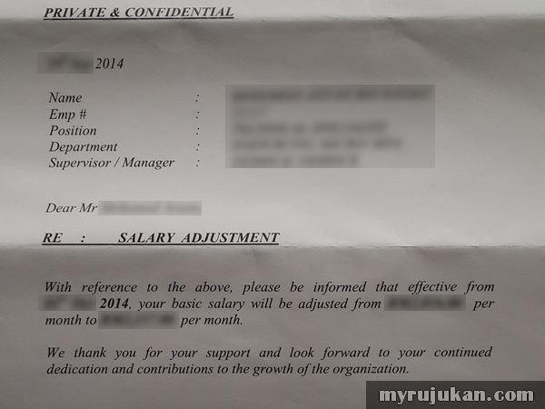 Bentuk Kenaikan Gaji Pekerja Swasta Malaysia