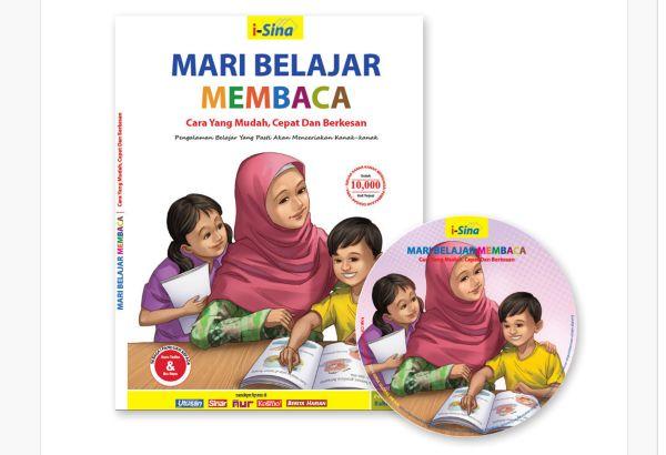 Buku dan DVD Mudah Membaca Untuk Anak Disleksia