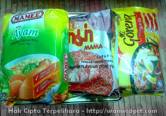 Mee Segera - Instant Noodles