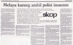 Melayu Kurang Mengambil Tahu Faedah Insurans Takaful