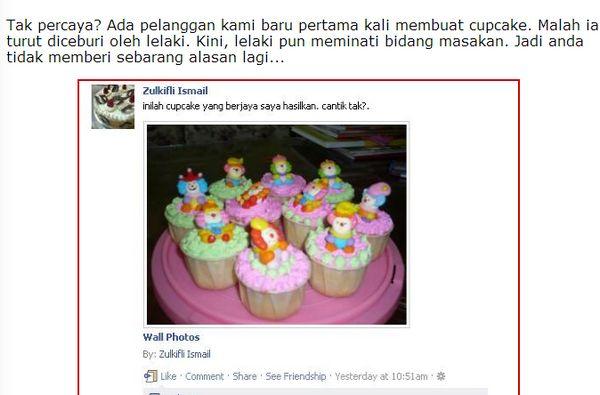 Panduan Menjalankan Bisnes Cupcake Dari Rumah