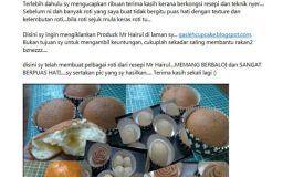 Testimoni Panduan Bisnes Dan Cara Membuat Roti Bun