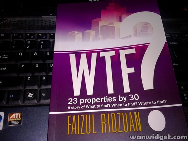 Buku Pelaburan Hartanah WTF 23 Properties by 30