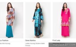 Beli Baju Kurung Moden Online