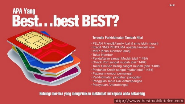 Beli Prepaid Sim Kad BESTMobile Malaysia Sekarang