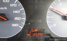 Display meter panel oil indicator Perodua Viva tidak nampak