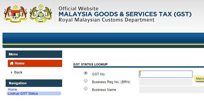 Bagaimana Untuk Semak GST ID Berdaftar Atau Tidak