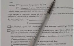 borang untuk terminate loan ASB