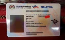 lesen memandu baru Malaysia 2015