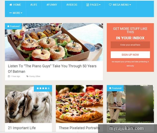 theme sesuai untuk membina website viral