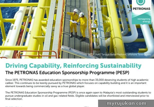 Peluang bantuan tawaran biasiswa dari Petronas Malaysia