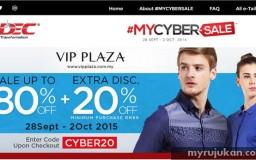 jualan mega online terbesar Malaysia dengan mycybersale