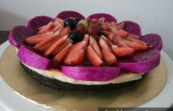 Oreo cheese cake filling strawberry
